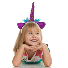 Unicorn Headband Soft Plush Horn & Ears – Fits Kids Or Adults!