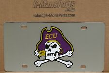 ECU East Carolina University Piraten Edelstahl Vanity Kennzeichen