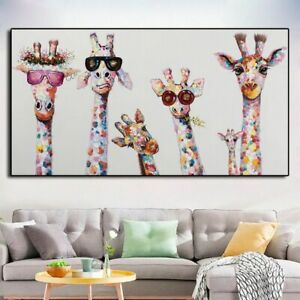 Animal Poster Painting Wall Art Picture Living Room Home Decor Posters Painting