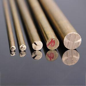 Brass Round Bar Rod - 500mm Long - Φ6/8/10/12/15/18/20/22mm Diameter Optional