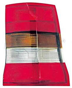 Smoke Grey Smoke Grey Tail Light Rear Lamp Right Fits OPEL Astra 1991-1998