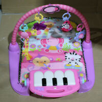 Mattel Fisher Price Spieldecke Piano Gym, pink 5059914 *Piano defekt* (Z209)