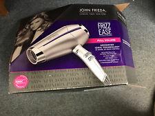 John Frieda Frizz Ease Full Size Volume Hair Dryer 1875 Diffuser Concentratrator