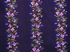 Stoffe Flieder Blätter Borten Ranken Bordüre lila lavendel purpur  30x1,12 BW
