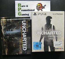The Art of Uncharted Trilogy Artbook & German Retail Special Edition Box