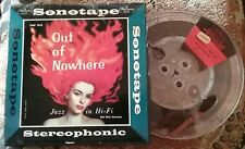 1957 2 TRACK Sonotape REEL TO REEL Hal Otis Quintet OUT OF NOWHERE 7½ JAZZ Tape