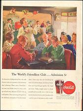 1946 Vintage ad for Coca-Cola`Art Glass   (030517