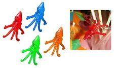 Multi Colored Plastic Cocktail Octopus Drink Markers (72) - Drink Decorations
