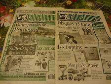 lot 2livres 1998 sur  pins,disques45,,citroen ,cartes postales bordeaux photos