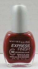 Maybelline Express Finish 60 Second Nail Color - Crimson # 150