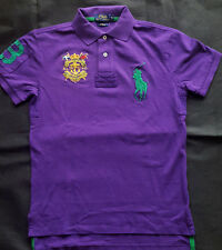 "POLO RALPH LAUREN ""CUSTOM FIT""  Big Pony Polo ""MAUVE"" Gr S"