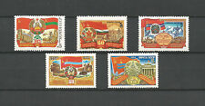 USSR 1984...Zag. 5496-5500...MNH **...60-лет Союзным республикам...(5 stamps)