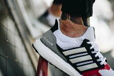 Adidas UltraBOOST S&L m EF2027 Men 8.5 Triple White Multi Colors $180 Yeezy