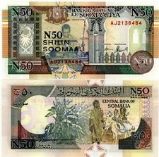 Somalia Note :- 50 Shillings 1991 Bank Note Currency UNC   #A220