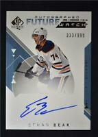 2018-19 SP Authentic Future Watch Auto #166 Ethan Bear /999