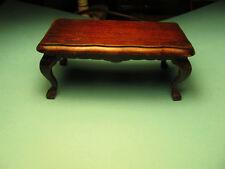 MINI DREAMS Victorian Mahogany Finish Coffee Table