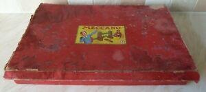 Vintage Meccano Set 7 Boxed