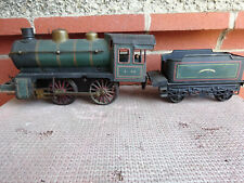 GERBRUDER BING CLOCKWORK WIND UP LOCOMOTIVE 1 GUAGE