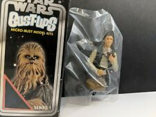 Star Wars Han Solo Bust Ups Gentle Giant Mini Action Figure 2004 With Box