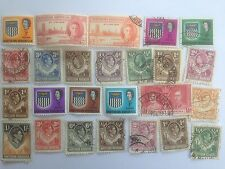 25 Different Northern Rhodesia Stamp Collection