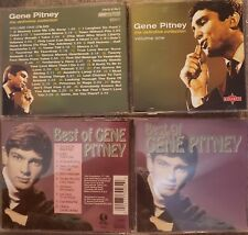 Lot of 3-CDs Gene Pitney Definitive Collection V1 V2 Best of FAST SHIP FROM USA