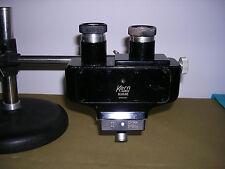 Kern Aarau, Suisse, microscope binoculaire stéreo, ancien, + suport, horlogerie?