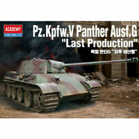 Academy 1/35 Pz.Kpfw.V Panther Ausf.G Tank Toys Kits Military Hobby Model 13523