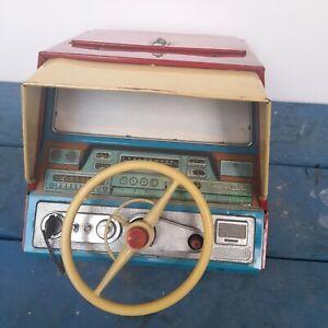 VINTAGE BANDAI SIMULATOR DRIVING SCOPE TIN TOY JAPAN 1960; SPARE PARTS OR REPAIR