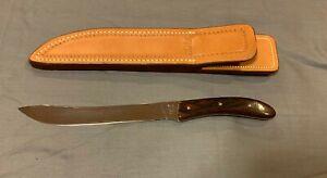 Buck Custom Knife Sweep Point Fillet Model 953