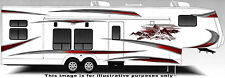 RV, Trailer Hauler, Camper, Motor-home Large Decals/Graphics Kits-K-0008-2
