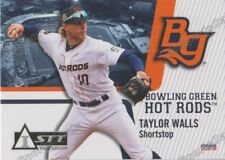 2018 Bowling Green Hot Rods Taylor Walls RC Rookie Tampa Bay Rays Minor
