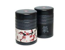 Japanese Vintage Kitchen Tins, Jars, Canisters Tea Coffee Sugar Storage Set New