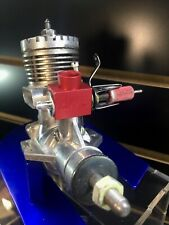 RARE Johnson 36 J-RC Vintage Model Airplane Engine 1962  Red Carb - Very Clean!