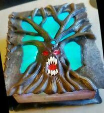 Halloween tree colour changing spell book sound and touch Activated scary sounds