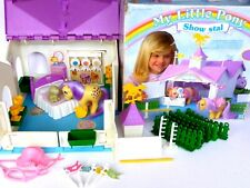my little pony g1** SHOW STABLE/SHOWSTABLE MADE IN ITALY**COMPLETE WITH BOX