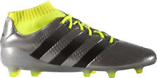 Men's Adidas ACE 16.1 Primeknit FG Football Boots. Metallic Silver. Size UK 11.5