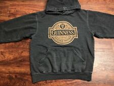 GUINNESS Men's Dark Gray Hoodie Size Medium Regular