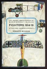 THE POCKET ENCYCLOPEDIA OF WORLD AIRCRAFT IN COLOR - FIGHTERS 1914-19 by KENNETH