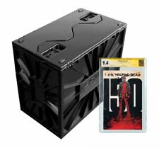 Black Plastic Graded Comic Book Bin Bcw Locking Storage Box Heavy Duty Holds