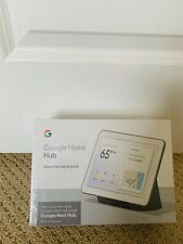 Google Home Hub - Charcoal-FACTORY SEALED-FREE SHIPPING