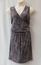 Rockmans Size 18 Dress NEW Stretch Print Corporate Work Casual Dinner Evening