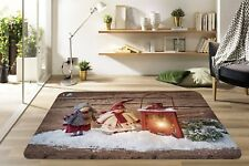 3D Christmas Xmas 567 Non Slip Rug Mat Room Mat Quality Elegant Photo Carpet UK