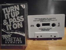 RARE PROMO Metal sampler CASSETTE TAPE Last Crack SACRED REICH Kingdom Come 1991