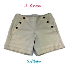 "J Crew Womens Size 2 Sailor Tan Beige Shorts 7"" Inseam MSRP: $59.50"