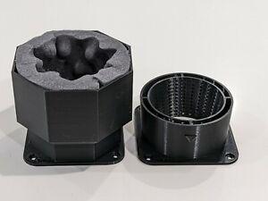 Mega Max Airflow - Decibel Reducer plus air baffling intake ₿ complete set