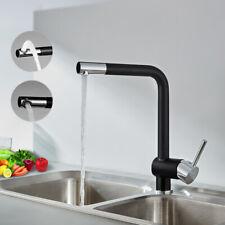 Küchenarmatur Schwarz Wasserhahn Spültischarmatur Einhebelmischer Mischbatterie