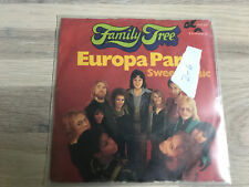Family Tree - Europapark /Sweet Music  1973  Single  VINYL