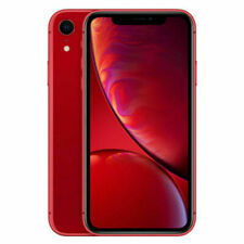 Apple iPhone XR 64gb Red Smartphone Without Simlock- Good