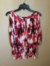 Kenneth Cole Women's Cold Shoulder, Multi, XS*** Excellent Condition!!!