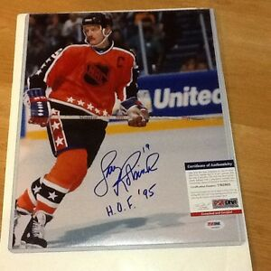 Larry Robinson Signed 11x14 All Star Photo PSA DNA COA Autographed Canadiens b